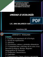 Unidad II Ecologia