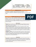 Guía de Aprendizaje 0-1año