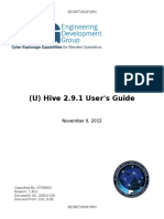 Hive UsersGuide