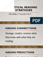 Cognitive Reading Strategies