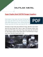 Super Duplex Steel s32750 Flanges Suppliers