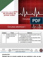 2017. UNIDAD IV Análisi Transitorio de Circuitos de Primer Orden.
