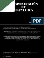 Adm de Proyectos