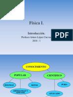Física 1. Introducción 2k18 1