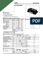 1mbi300n-120 Igbt Module