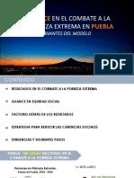 Avance en el combate a la pobreza extrema en Puebla