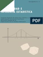 Probabilidad e Inferencia Estadística (Por Luis a. Santaló)