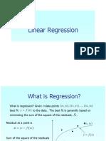 13 Linear Regression