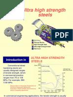 HPA 9 Ultra High Strengt Steels