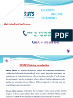 Spiritsofts provides Online Training for Devops in HYDERABAD INDIA, CANADA, USA, UK, UAE, AUSTRALIA  and  many more