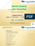 Spiritsofts provides Online Training for HYPERION ESSBASE & PLANNING in HYDERABAD INDIA, CANADA, USA, UK, UAE, AUSTRALIA  and  many more.