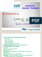 Spiritsofts provides Online Training for WorkDay in HYDERABAD INDIA, CANADA, USA, UK, UAE, AUSTRALIA  and  many more.