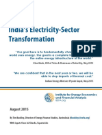 IEEFA Indian Electricity Sector Transformation August 2015