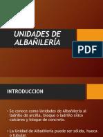 Unidades de Albalieria