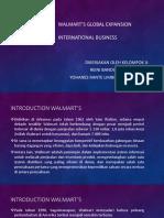 Walmart's Global Expansion