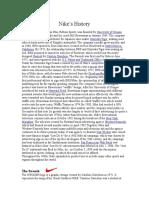 40362224 Nike s History