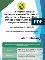 Evaluasi Program k4 Asmo Dinkes