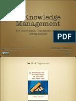 Lecture2 Knowledgemanagement Forindividualscommunitiesandorganizations 120125162442 Phpapp01