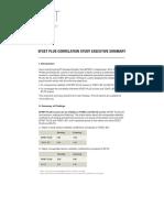 EFSET Correlation Summary