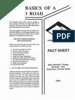 Basics of Good Road 0