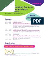 Seminar Invitation-Better Solution for Your Laboratory Anaylisis From MERCK- Surabaya_7 November 2017