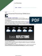 5 Reflejos Esenciales en Photoshop