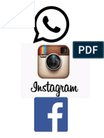 logos de las 3 principales redes sociales