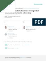 ParameterdeterminationofChabochekinematichardeningmodelusingamultiobjectiveGeneticAlgorithm.pdf