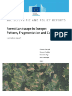 Forest Landscape in Europe- Pattern, Fragmentation and Connectivity