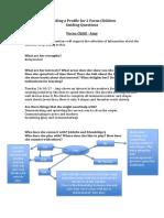 building a profile about 2 focus children - ab