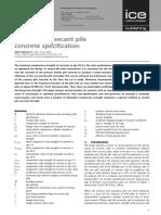 Gannon - Primary Firm Secant Pile Concrete Specification - April 2016
