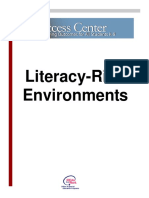 21 - Literacy Rich Environments