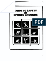 GuidetoSafety at Sportsground