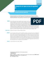Cenário da atuação do seis sigma na área de engenharia de produção.pdf