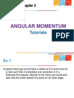Ch 6-Tutorials -Ang Momentum