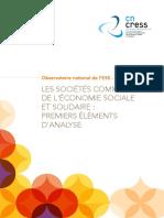 Etude Sociétés Commerciales de l'ESS - 2016