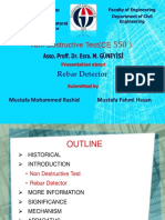 NDT - Rebar Detector 1 (Magnetic)