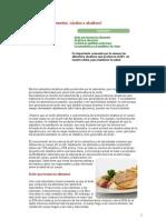 Alimentos Acidos y Alcalinos