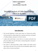 Structural Analysis of Cable Stayed Bridge