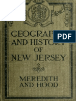 Geography of New Jersey 1921