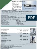 Linear Gage Sensor