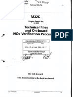 M32C Technical Files and on Board NOx Verification Procedures