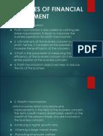 Fm Objectives