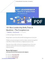 101 Best Leadership Skills, Traits & Qualities - The Complete List.output