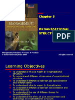 301 33 Powerpoint Slides Chapter 5 Organizational Structure