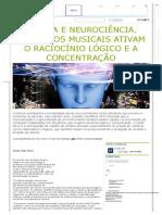 Música e Neurociência