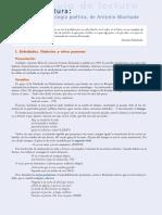 Guc3ada de Lectura Antologia Machado