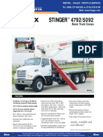 Terex BT5092 Product Specification