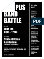 Campus Band Battle