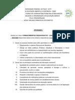 Atividade i Legislação e Organização Educação Básica